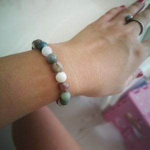 Nature Jade stone bracelet